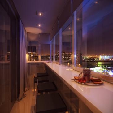 Капитальный ремонт балкона своими руками