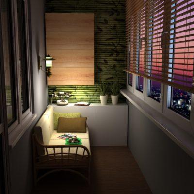Фото 4 - 3d дизайн балкона