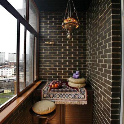 Фото 8 - балкон в восточном стиле