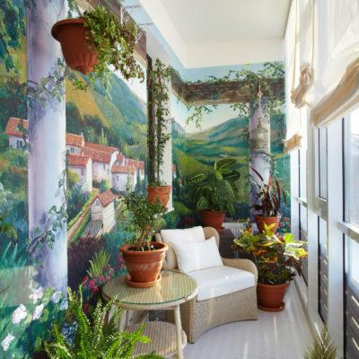 Фото 9 - зимний сад на балконе