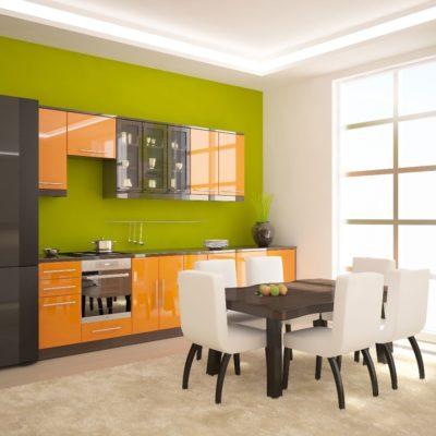 Фото 9 - использование ярких цветов в дизайне кухни