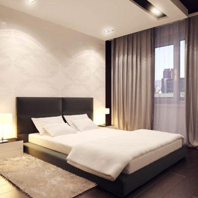 Фото 5 - минимализм в ремонте спальни