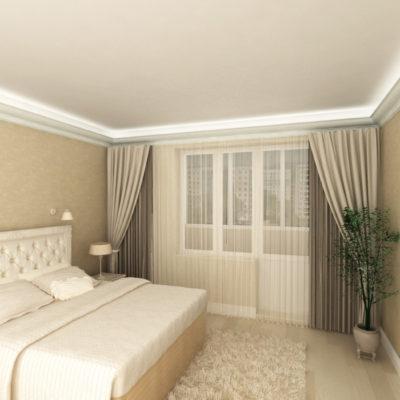 Фото 6 - традиционный ремонт в спальне