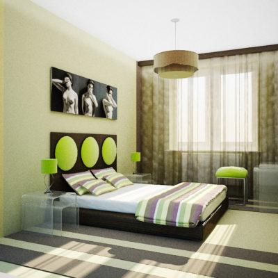 Фото 2 - недорогой ремонт спальни своими руками в стиле модерн