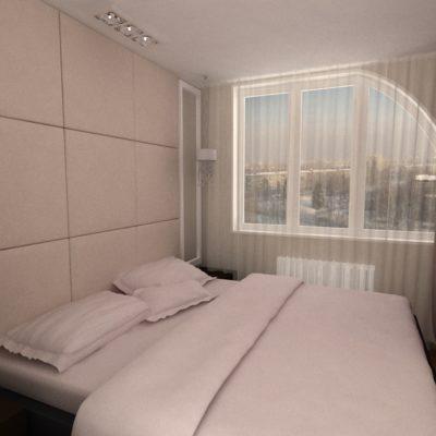 Фото 7 - ремонт спальни в маленькой квартире