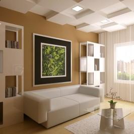 Ремонт зала в квартире и частном доме: как добиться эффектного интерьера