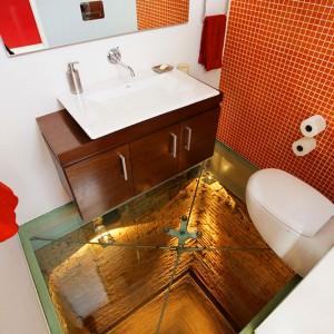 Наливные 3d полы в ремонте туалета
