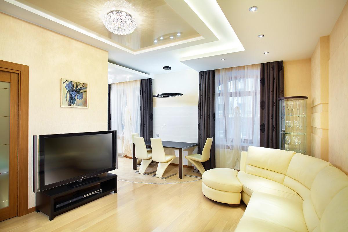 Дизайн 1-комнатной квартиры 47 кв м в Москве 42 фото