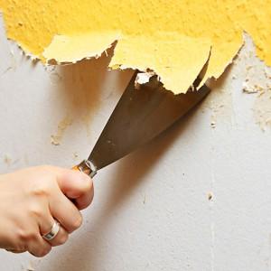 Демонтаж краски в туалете своими руками