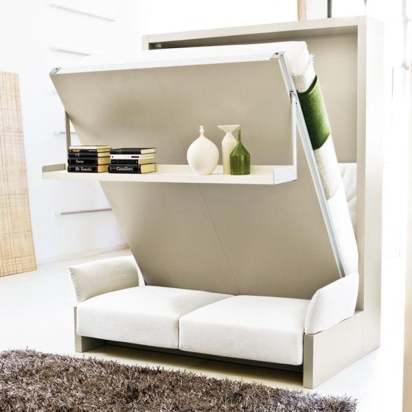 Фото 2 - кровать-трасформер - отличная идея для ремонта малогабаритной квартиры