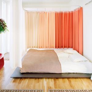 Эффект омбре на шторах