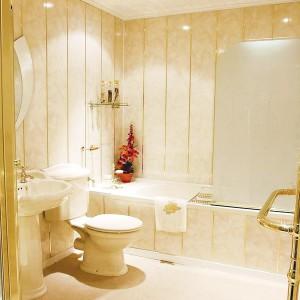 Отделка ванной ПВХ панелями своими руками
