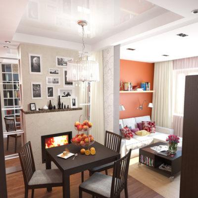 Фото 2 - дизайнерский ремонт малогабаритных квартир