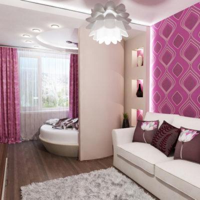 Фото 4 - идея для ремонта зала малогабаритных квартир