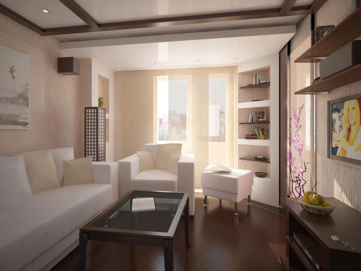 Интерьер гостиной хрущевки дизайн фото