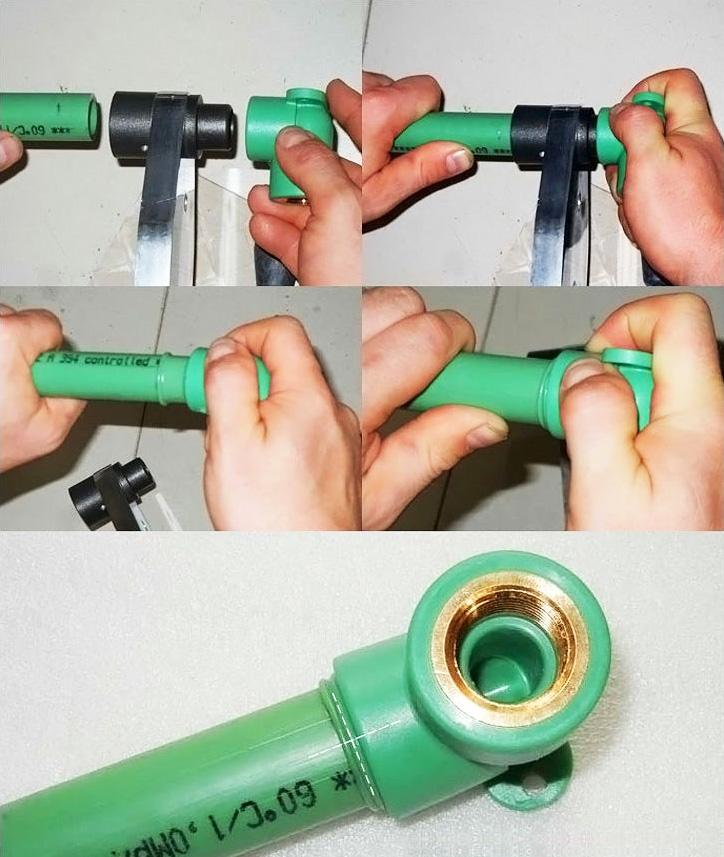 Пластиковые трубы пайка своими руками
