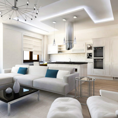Фото 2 - квартира-студия - отличная идея для ремонта двухкомнатной квартиры