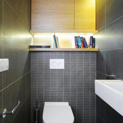 Фото 5 - ремонт туалета в панельном доме