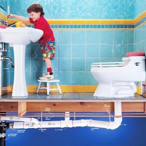 Ремонт туалета - система водопровода и канализации