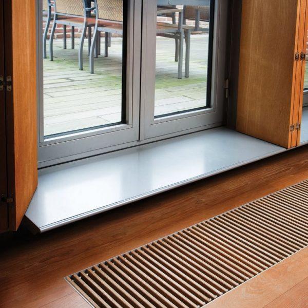 Скрытая установка радиаторов отопления