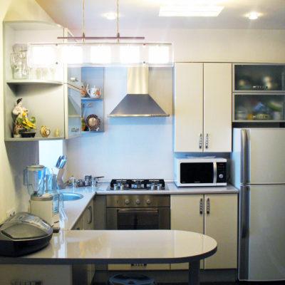 Недорогой ремонт маленькой кухни