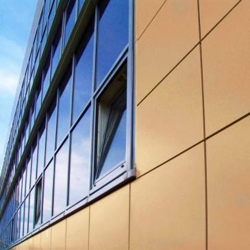 Алюминиевые фасады — современный способ отделки зданий