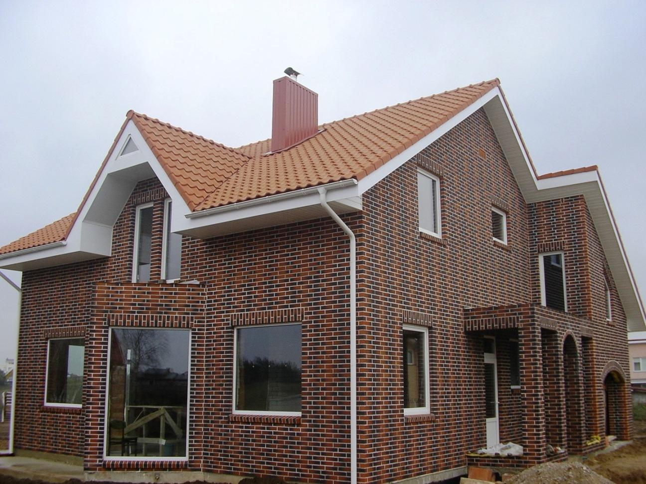 Фото домов с керамического кирпича