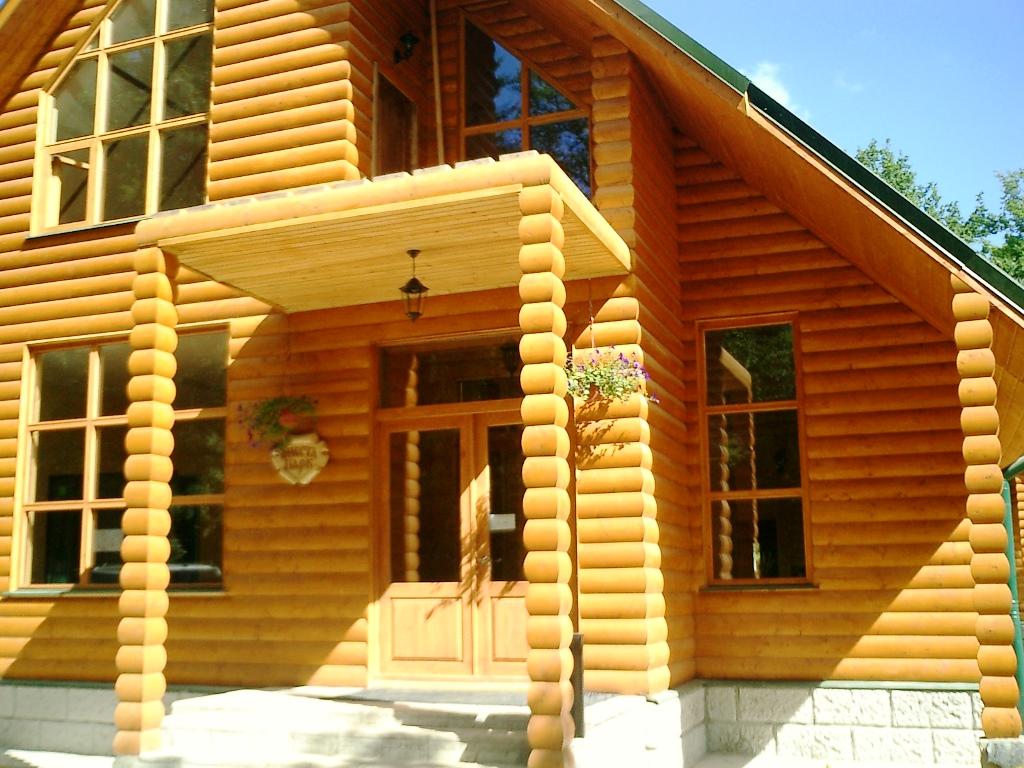 обшивка дома деревом снаружи фото