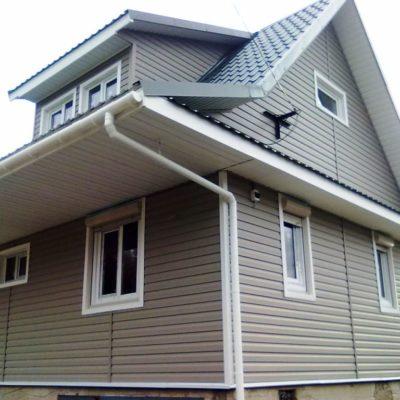 Обшивка дома виниловым сйдингом - фото №5