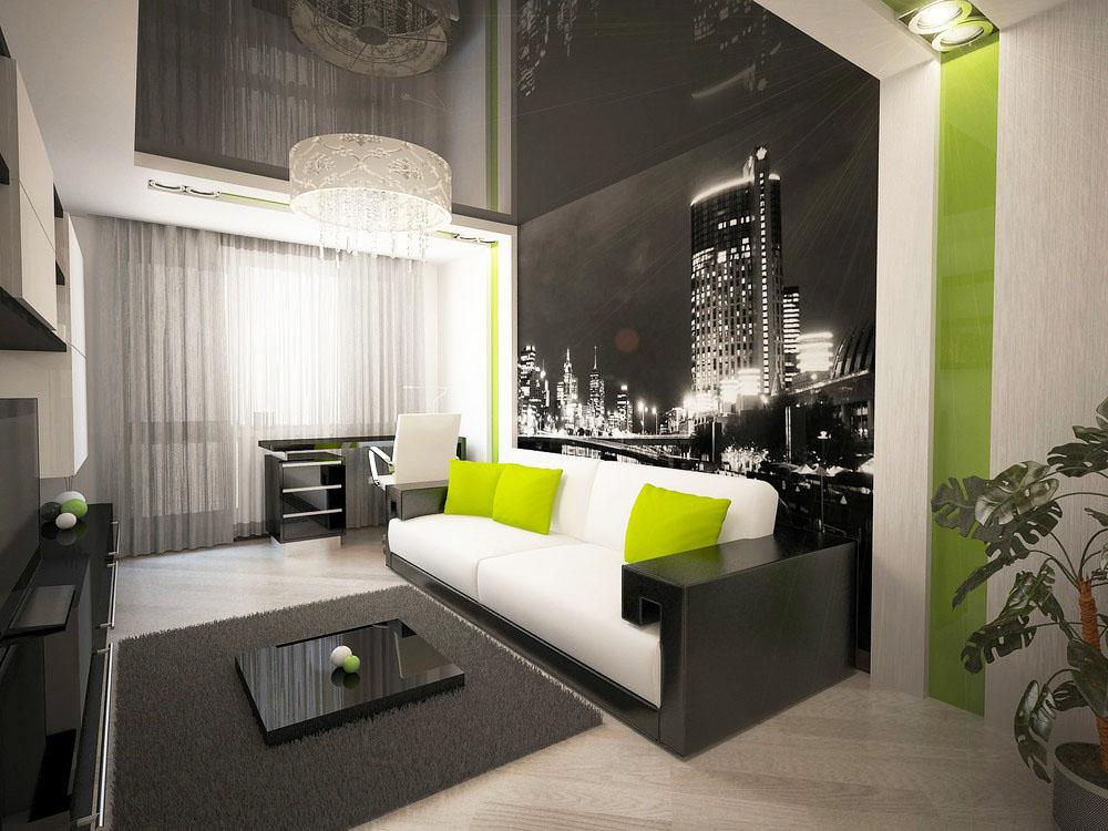 Дизайн интерьера однокомнатных квартир фото