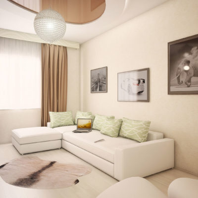 Фото 2 - современный ремонт квартиры
