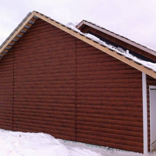 Металлосайдинг - фото отделки фасада