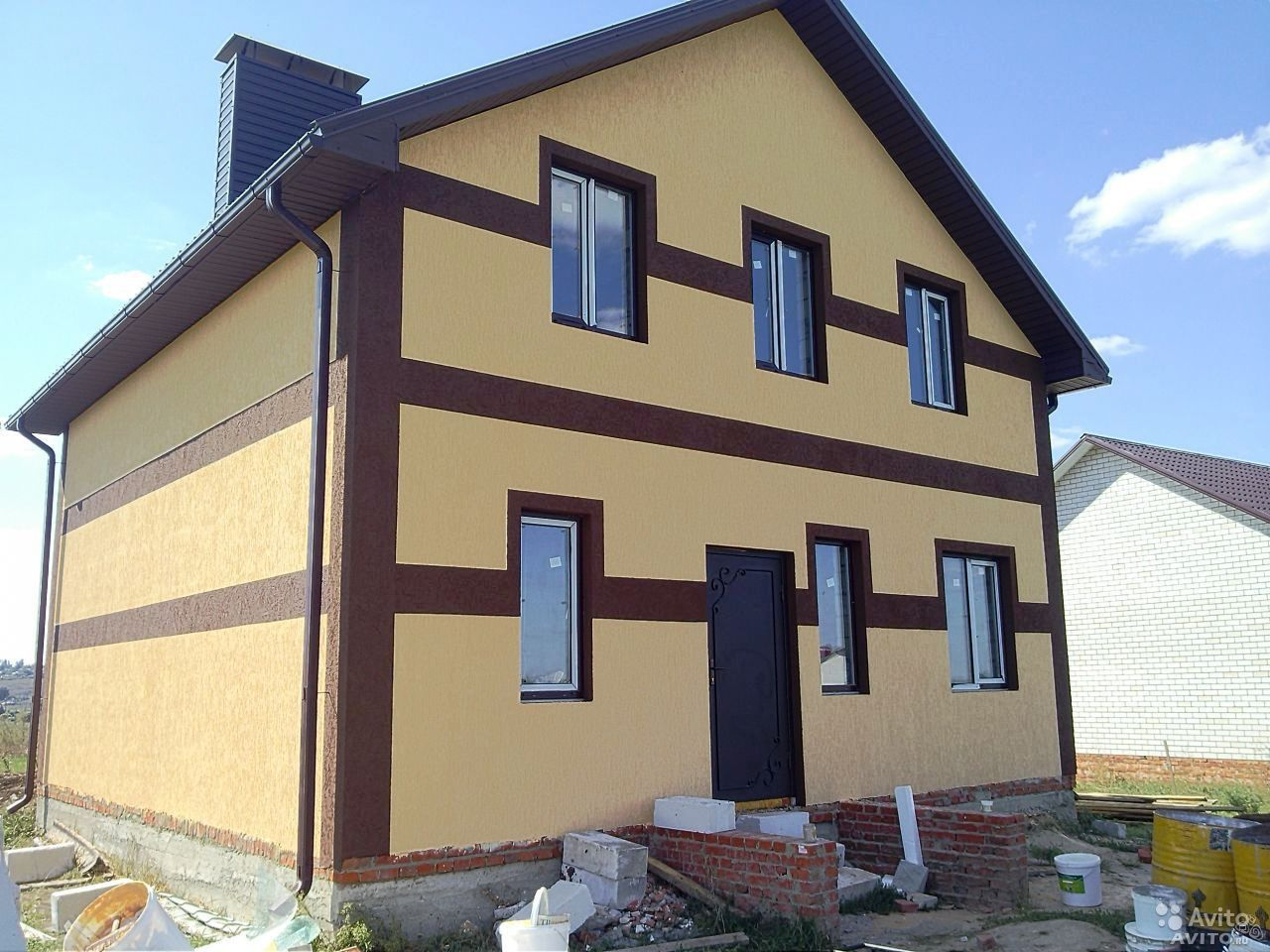 Как покрасить фасад дома своими руками : фото, подготовка фасада 85