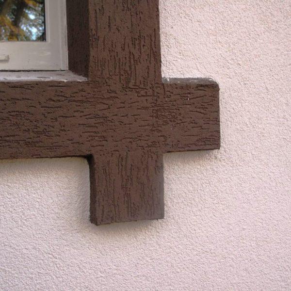 Штукатурка короед - отделка дома фото №2