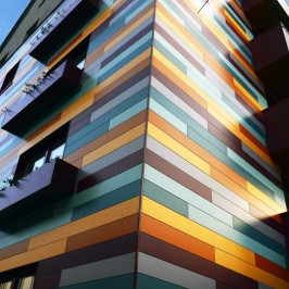 Композитные фасадные панели – материал будущего